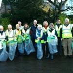 Wilmslow CleanTeam volunteers - December 2013