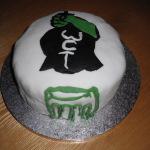 Wilmslow Clean Team 1st Birthday Cake