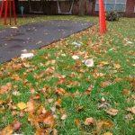 Wilmslow Clean Team Little Lindow Playground Litter Oct 2018